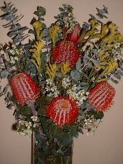 ブッシュフラワー花束1
