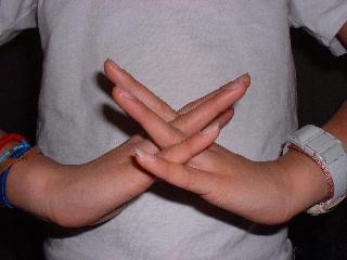 手の位置6
