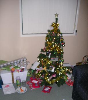 クリスマスツリーとプレゼント☆